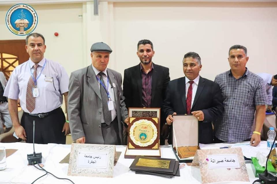 توقع اتفاقية تعاون مشترك بين جامعة الجفرة و جامعة صبراتة