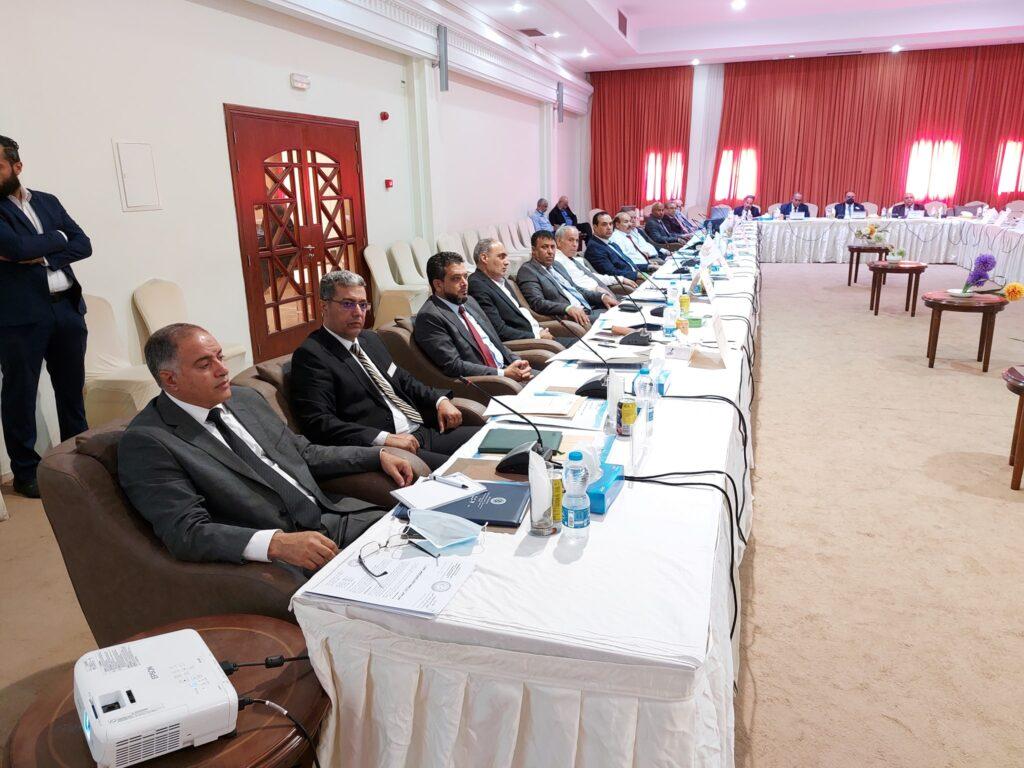 اجتمع معالي وزير التعليم العالي بصبراتة مع رؤساء الجامعات الليبية